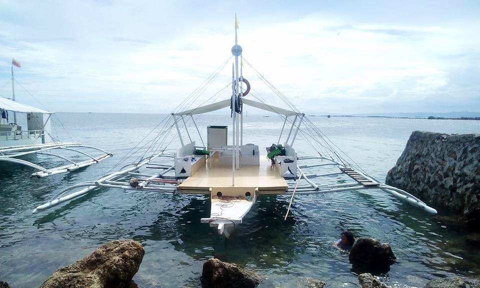 20 person Boat tour in Cordova, Philippines