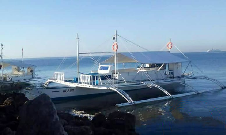 Have Fun on Traditional Boat in Cordova, Philippines for 20 People!