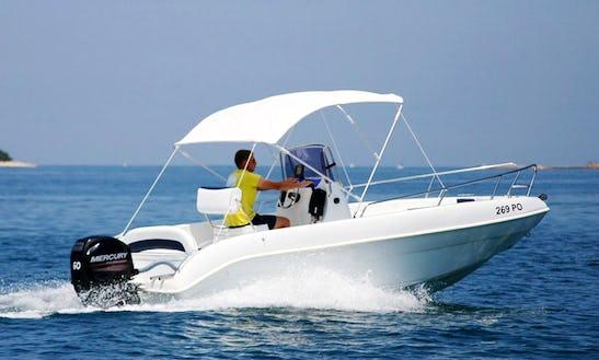 Rent A Open Line Boat In Funtana