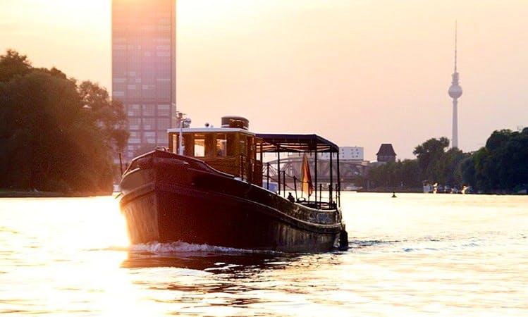 49f Canal Boat Charter in Berlin, Germany