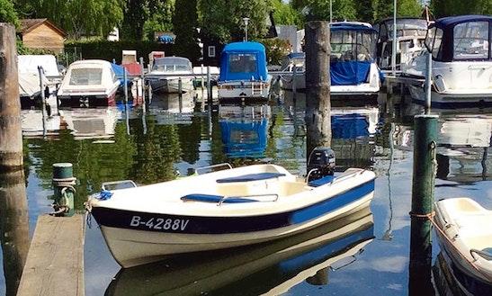 Enjoy Berlin, Germany  On Motorboat Dinghy