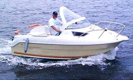 Hanne2 15hp Boat Rental In Fehmarn
