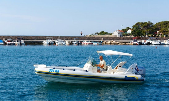 Marlin Top 20 Rigid Inflatable Boat For Rent In Krk, Croatia