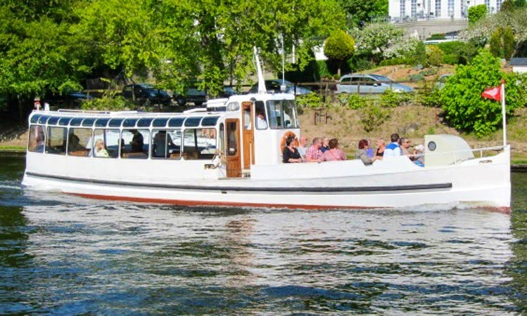 "Charter ""Falcon"" Canal Boat in Silkeborg, Denmark"