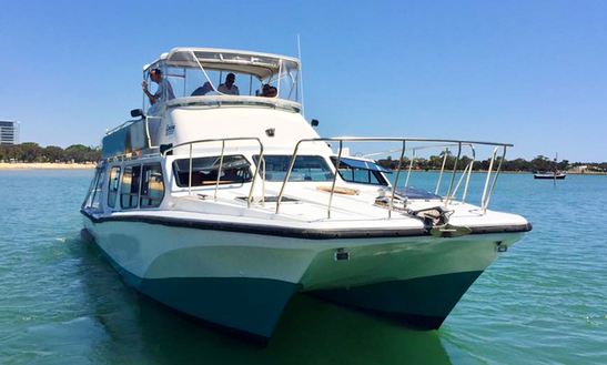 Charter 41ft Power Catamaran In Mandurah, Australia