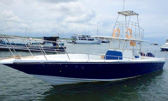 4 Hours Coral Fishing On Center Console Charter In Denpasar Selatan, Indonesia On