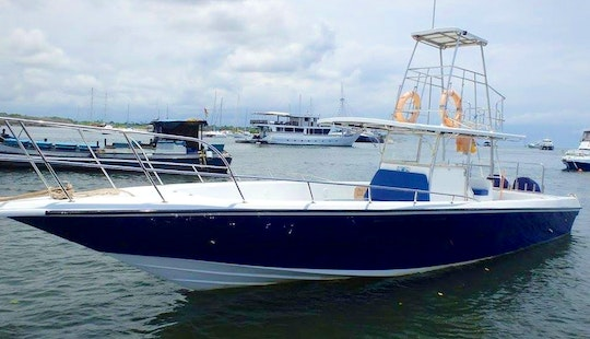 4 Hours Coral Fishing On Center Console Charter In Denpasar Selatan, Indonesia