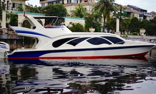 Charter Zevolution Passenger Boat In Pademangan, Indonesia