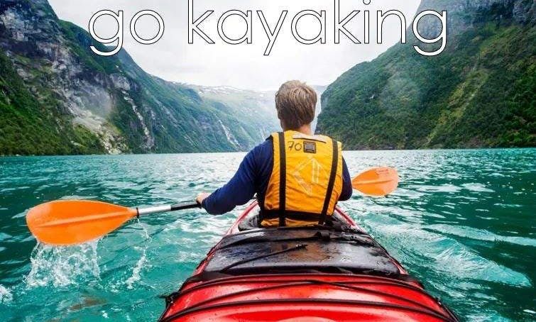 Amazing Kayaking Adventure for 2 People in Valle de Bravo, Mexico