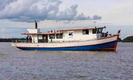 Enjoy Fishing In Kuching, Malaysia On Trawler