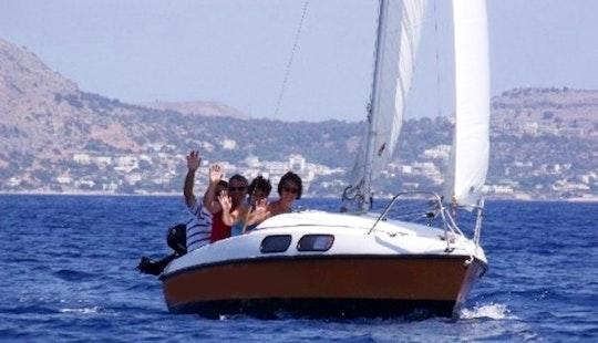 Charter A Daysailer In Rodos, Greece