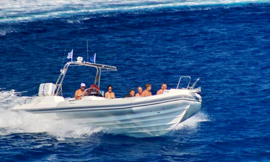 Charter 32' Rigid Inflatable Boat In Rodos, Greece