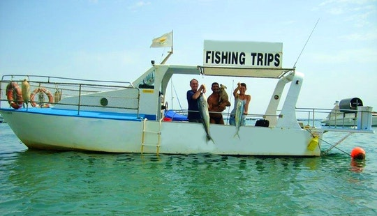 Enjoy Fishing In Limassol, Cyprus With Captain Chris