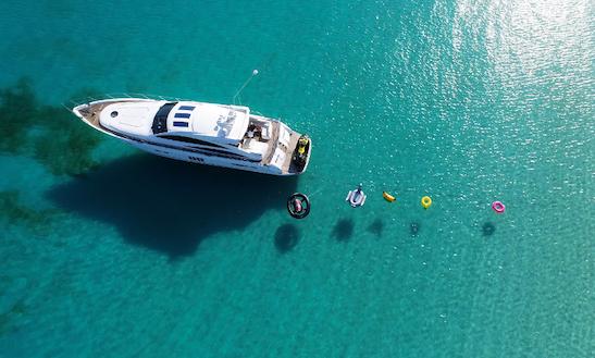 Charter 65' Princess Power Mega Yacht In Puerto Rico