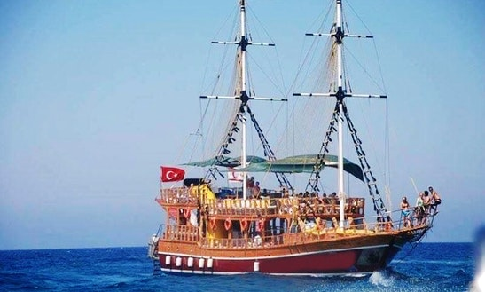 Charter Prenses Gulet In Kyrenia, Cyprus