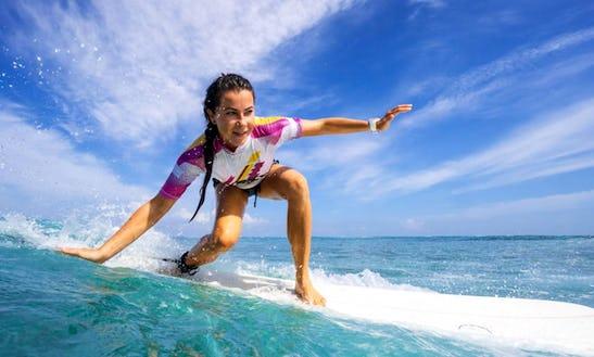 Enjoy Surf Lessons In Potrero, Costa Rica