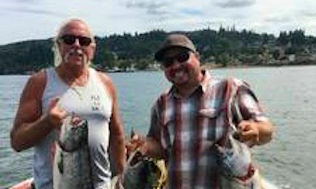 Enjoy fishing in silver lake washington with captain tony for Silver lake washington fishing