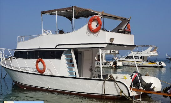 Charter A Motor Yacht Or Go Fishing In Suez Governorate, Egypt