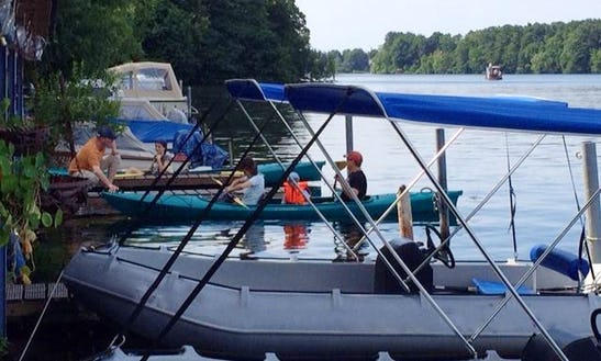 Whaly 370 Deck Boat Rental In Woltersdorf, Germany