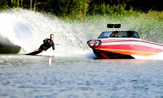Enjoy Water Skiing In Plau Am See, Mecklenburg-vorpommern