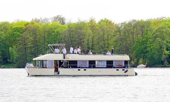 49' Houseboat Charter In Berlin, Germany
