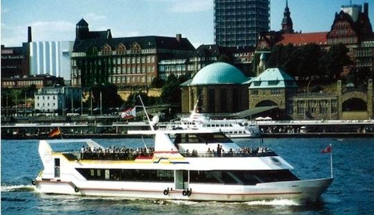 Passenger Boat In Hamburg