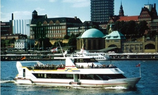 Passenger Boat In Hamburg