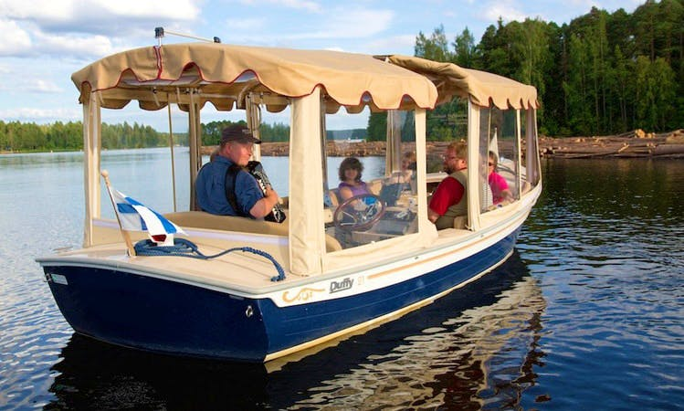 """Lady of the Lake"" Boat Sightseeing Tour in Varkaus"
