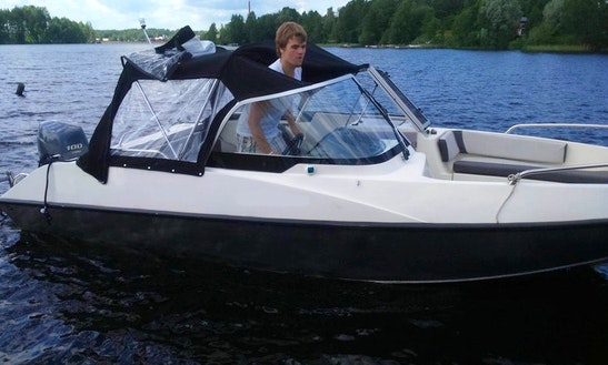 Buster Xle Boat Rental In Savonlinna, Finland