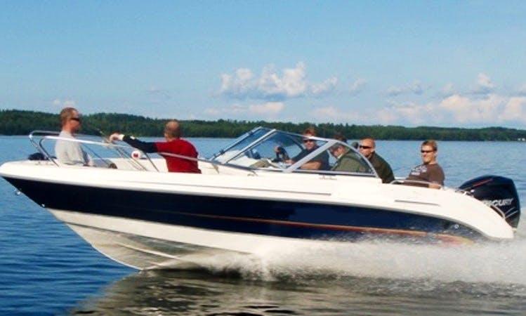 Motorboat Trips & Rental in Savonlinna, Finland