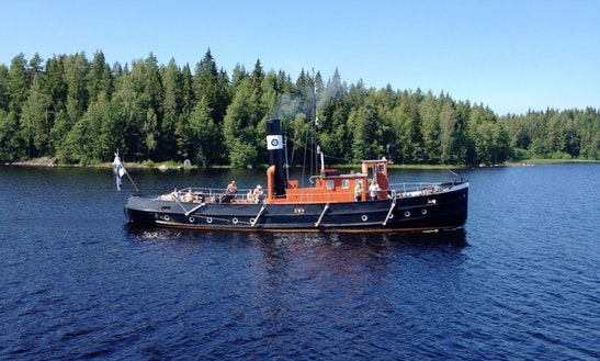 Charter 69' Trawler In Tampere, Finland