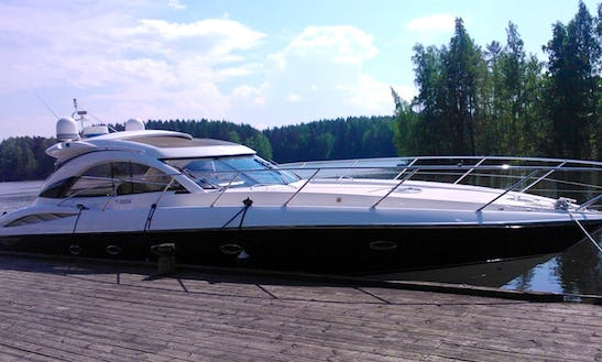Charter 54' Sunseeker Camargue Motor Yacht In Tampere, Finland