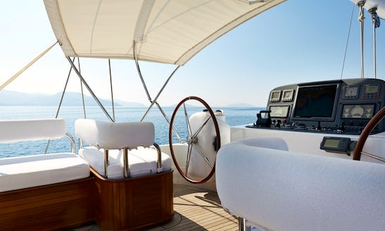36 Meters Sailing Yacht Glorious For Charter @south Of France&italy