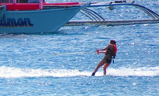 Enjoy Wakeboarding In Lapu-lapu City, Philippines