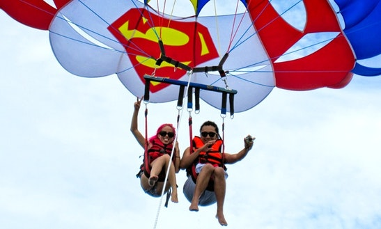 Enjoy Parasailing In Alexandria Governorate, Egypt
