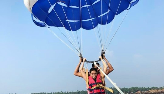 Book A Parasailing Experience In Malvan, India
