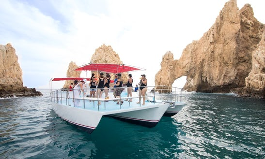 3-hours Private Power Catamaran Tour In Cabo San Lucas, Mexico