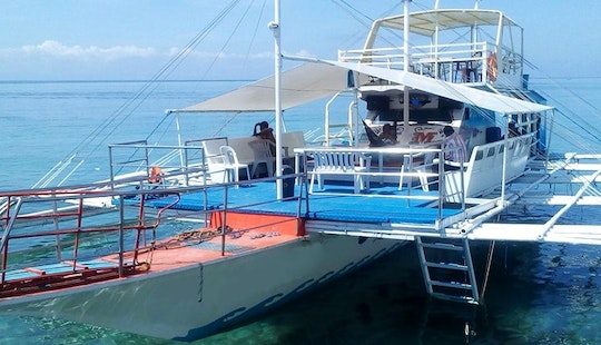 25-people Traditional Boat For Rent In Cordova, Philippines