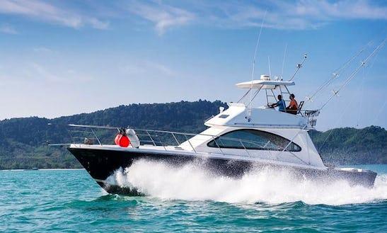 Riviera 45 Crewed Fishing Charter In Phuket