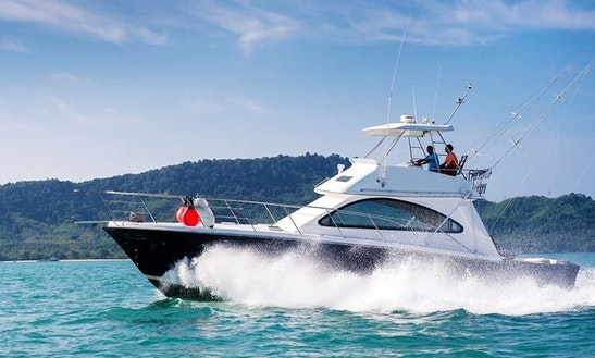 Riviera 45 Crewed Fishing Charter In Phuket