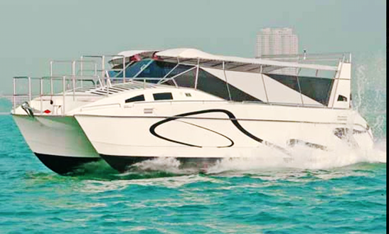 Charter Aquacat Power Catamaran In Muang Pattaya, Thailand