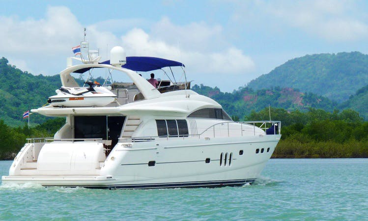 Princess 23M Motor Yacht in Phuket, Thailand