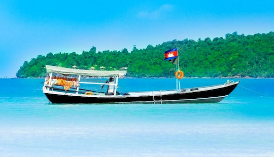 Village Tour In Koh Rong Sanloem By Traditional Boat