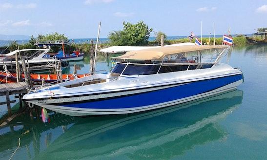 35ft Fiberglass Hull Motor Yacht Rental In Ko Samui, Thailand