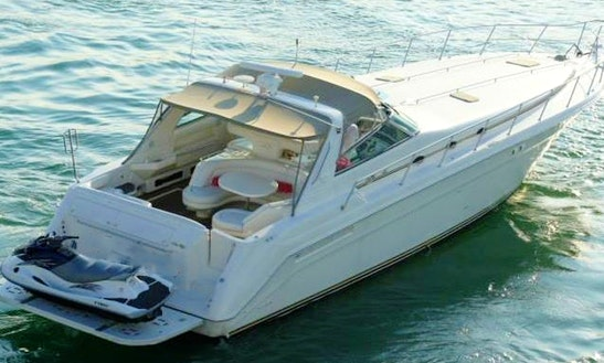 55' Sea Ray Motor Yacht (up To 12 Guests)