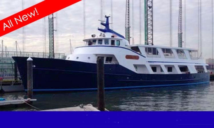 120' Yacht Charter in New York City