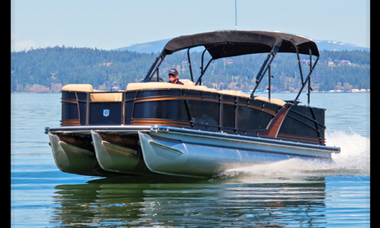 2016 Godfrey Sp 2500 Cb Tri-toon Rental In Coeur D'alene