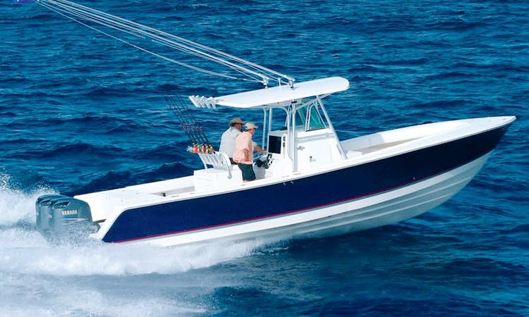 "Charter 32ft ""Black Diamond"" Center Console In Barnstable, Massachusetts"