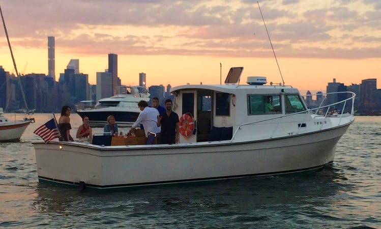 "Enjoy New York Harbor on ""Tireless"" Boat with Captain Dave"