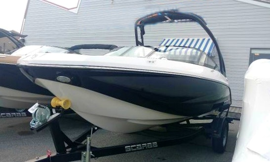Enjoy Fenwick Island, Delaware On 19' Scarab Jet Boat